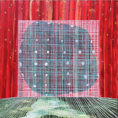 Julia Morrisroe Knowns and Unknowns 50 x 50 Acrylic on Canvas