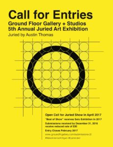 Open Call for Artists @ Ground Floor Gallery + Studios | Nashville | Tennessee | United States