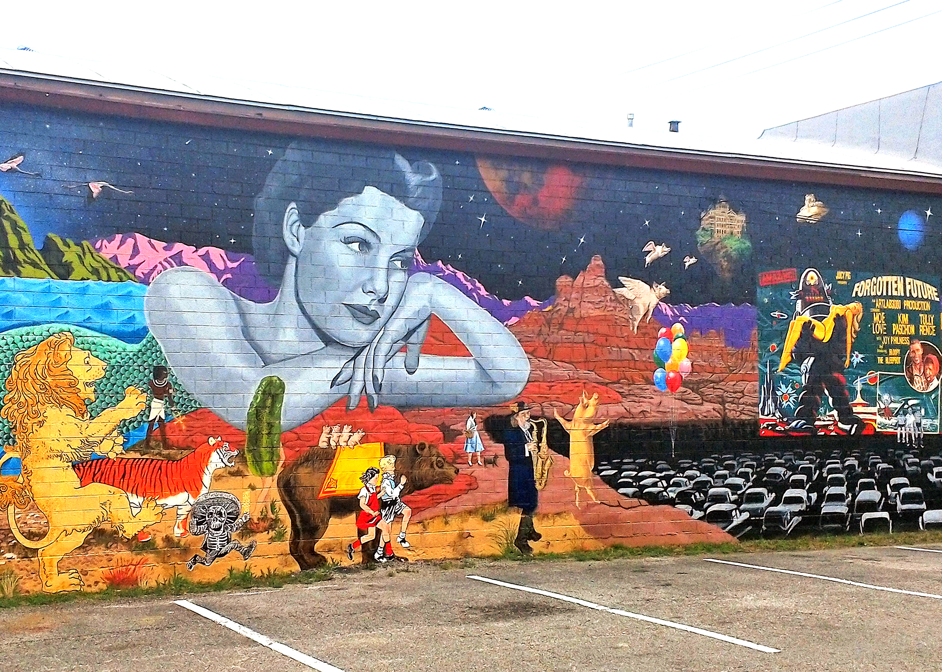 Mural Spotting in North Texas
