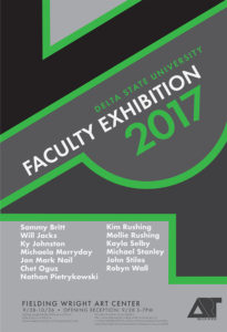 Delta State University Annual Faculty Exhibition @ Delta State University's Fielding Wright Art Center | Cleveland | Mississippi | United States