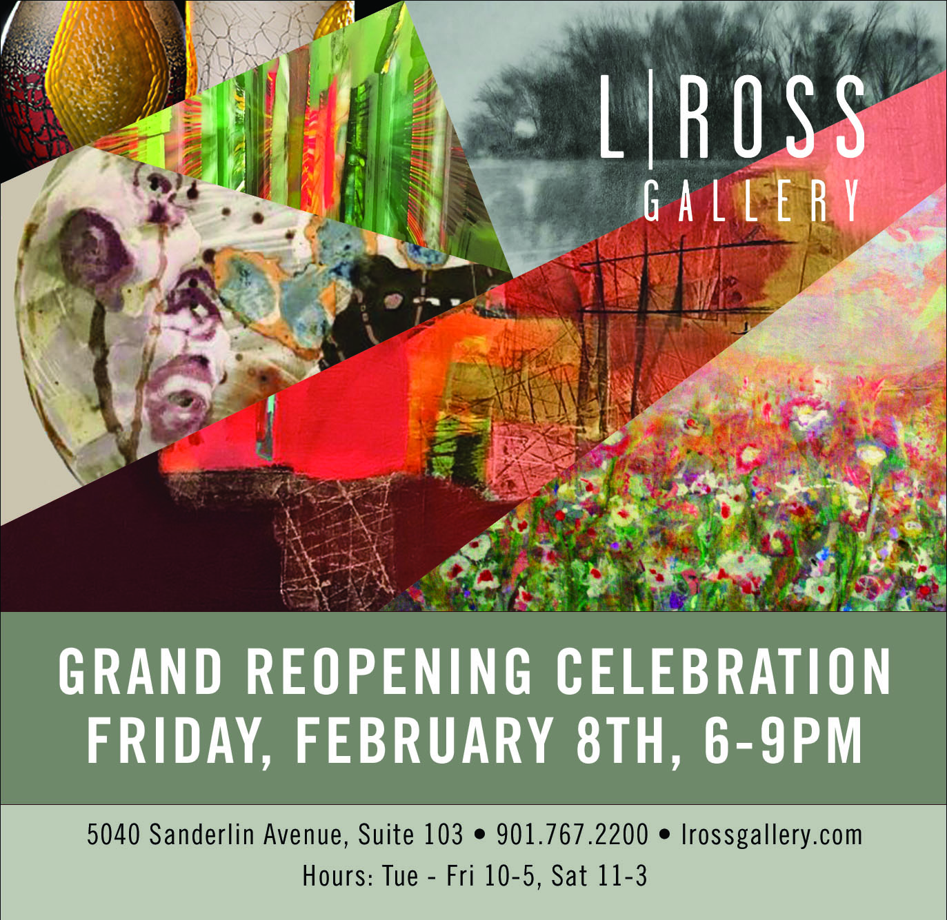 L | Ross Gallery Grand Reopening Celebration