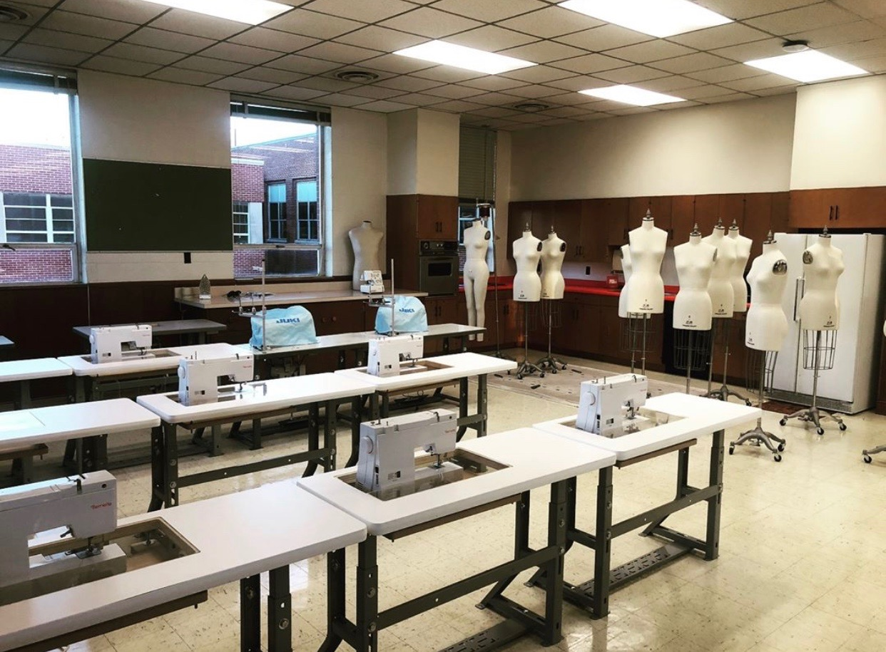 The Magic of Needles, Thread and Technology: Transforming Fashion and Visual Merchandising at the University of Memphis